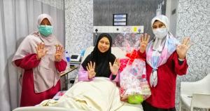 Pengalaman Bersalin 9 kali di Hospital Islam Az -Zahrah
